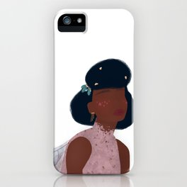 Black Fairy Godmother iPhone Case