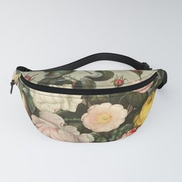 Pink  Red Floral : New Illustration Of The Sexual System Fanny Pack