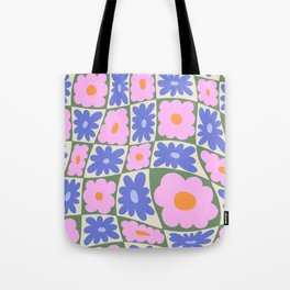 Floral seven Tote Bag