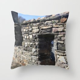 Whispers from the past Throw Pillow