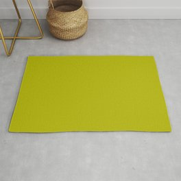 Palette fresh srping green pure color Rug