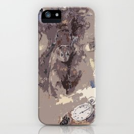 The first victory at the track iPhone Case