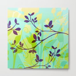 Fanciful Forest Metal Print