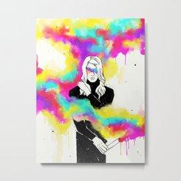 01 Fuego Hielo Metal Print