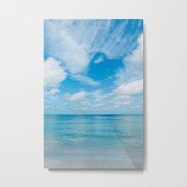 Florida Ocean View Metal Print