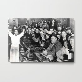 The Night Prohibition Ended Metal Print