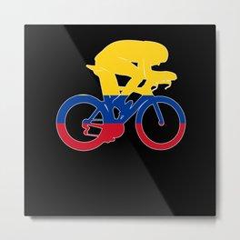 Tour de France, Tour de France Paris, Colombia Metal Print