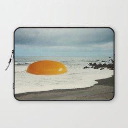 Beach Egg - Sunny side up Laptop Sleeve