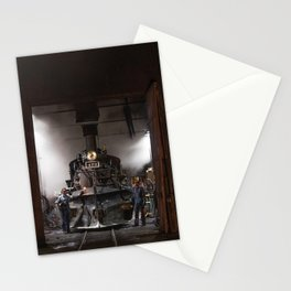 Locomotives Photograph Stationery Cards