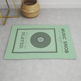 Made to be Played — Music Snob Tip #33⅓ A Rug