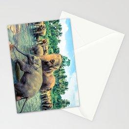 Pinnawala - Sri lanka Stationery Cards