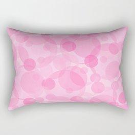 Pink Bubbles 1 Rectangular Pillow