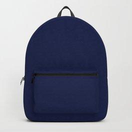 Solid Navy blue Backpack