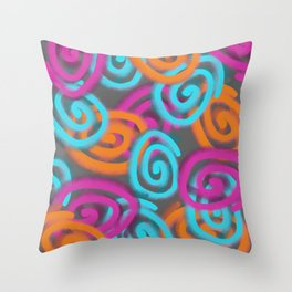Spiral Design Throw Pillow