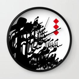 Arabic Calligraphy Peace  Wall Clock