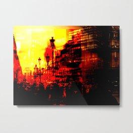 1st arrondissement-red Metal Print