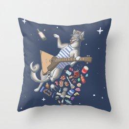 Balalaika Laika Throw Pillow