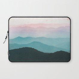Smoky Mountain National Park Sunset Layers III - Nature Photography Laptop Sleeve