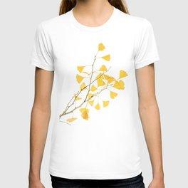 branch of ginkgo biloba T-shirt