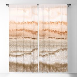 WITHIN THE TIDES NEW NEUTRALS by Monika Strigel Blackout Curtain