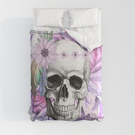 Sugar Skull, Day Of The Dead Comforters