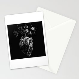 Peace of Heart - Anatomical Heart Illustration Stationery Cards
