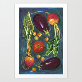 Farm to Table Art Print