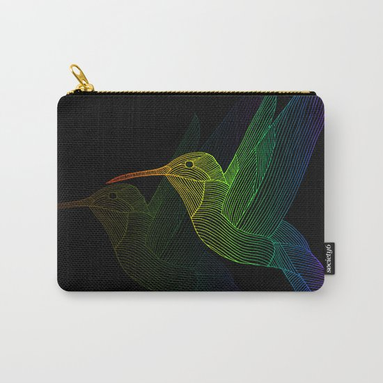 Rainbow Hummingbird by jnpdesigns
