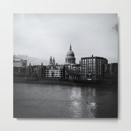 Thames at Dusk Metal Print