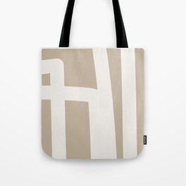 Neutral Abstract 5B Tote Bag