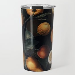 Vintage Fruit Pattern XXV - Night Travel Mug