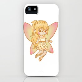 Fee camellias magic fairy tale girl gift iPhone Case
