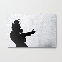 Ghost Shadow Shooter Metal Print