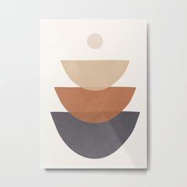 Minimal Shapes No.39 Metal Print