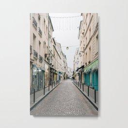 Rue Mouffetard 01 Metal Print