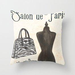 Maison de Mode 2 Throw Pillow