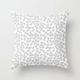 Venus Venus, Mars Mars, Venus Mars (white) Throw Pillow
