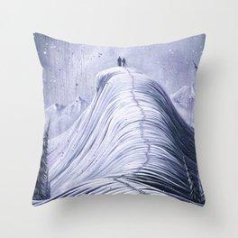 'Mountain Moments' Throw Pillow