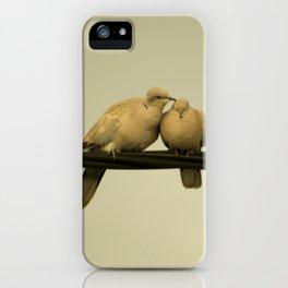 loving doves iPhone Case