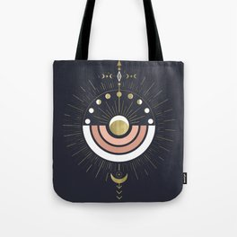 Full Magic Moon Tote Bag
