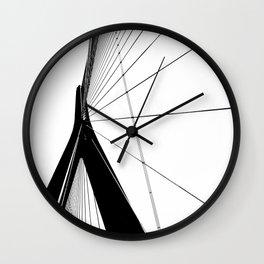 Normandy Bridge Wall Clock