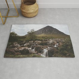 Famous Etive Mor - Landscape and Nature Photography Rug