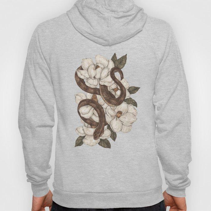 Snake and Magnolias Hoodie