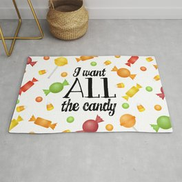 I Want All The Candy Rug