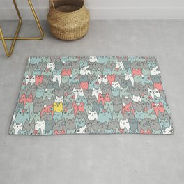 Cats family Rug