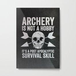 Archer Gift Idea Metal Print