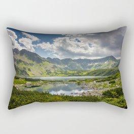 Mountain Lakes Rectangular Pillow