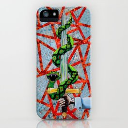Hayes crest iPhone Case
