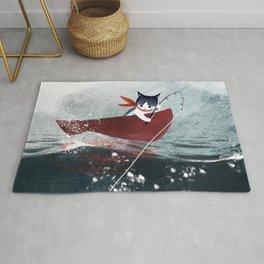 Catfish & Purrmaids Rug