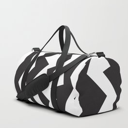 80s Zigzag Duffle Bag